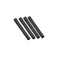 Heat shrink tube black 1mm - 1m