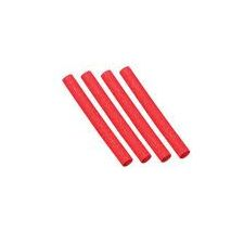 Gaine thermorétractable rouge 1mm - 1m