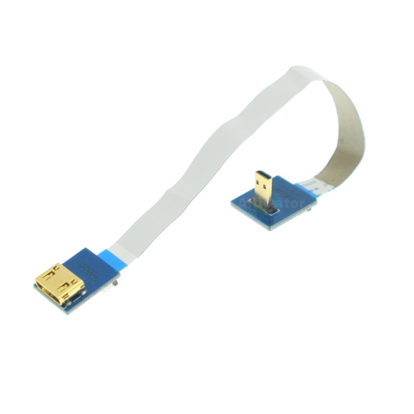 Mini HDMI to micro HDMI (90) cable