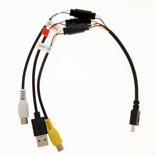 Mobius ActionCam - video cable