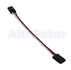 Servo extension cable Male-Male 25 cm