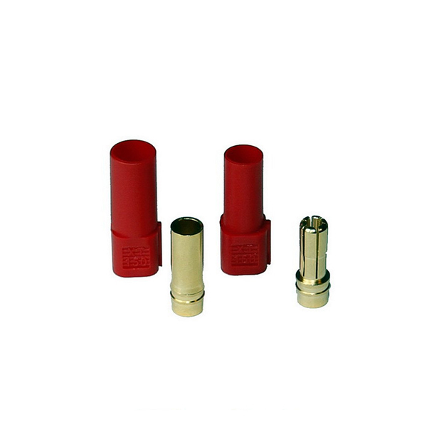 XT-150 plug kit male & female (red)